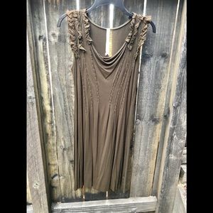 Bailey 44 Beautiful Brown Dress Size MED